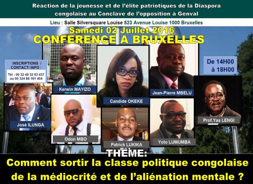 Conférence Bruxelles - 2 juillet 2016
