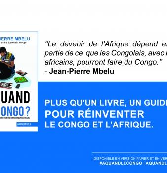 «A quand le Congo?» : Plus qu'un livre…