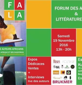 «A quand le Congo?» au FALA à Bruxelles, le 19.11.2016