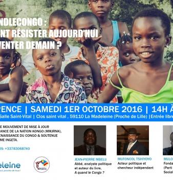 Comment Résister aujourd'hui & Réinventer demain – 1er octobre 2016 à Lille