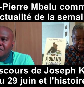 Jean-Pierre Mbelu: «A quand le Congo ? est une boîte à idées…»