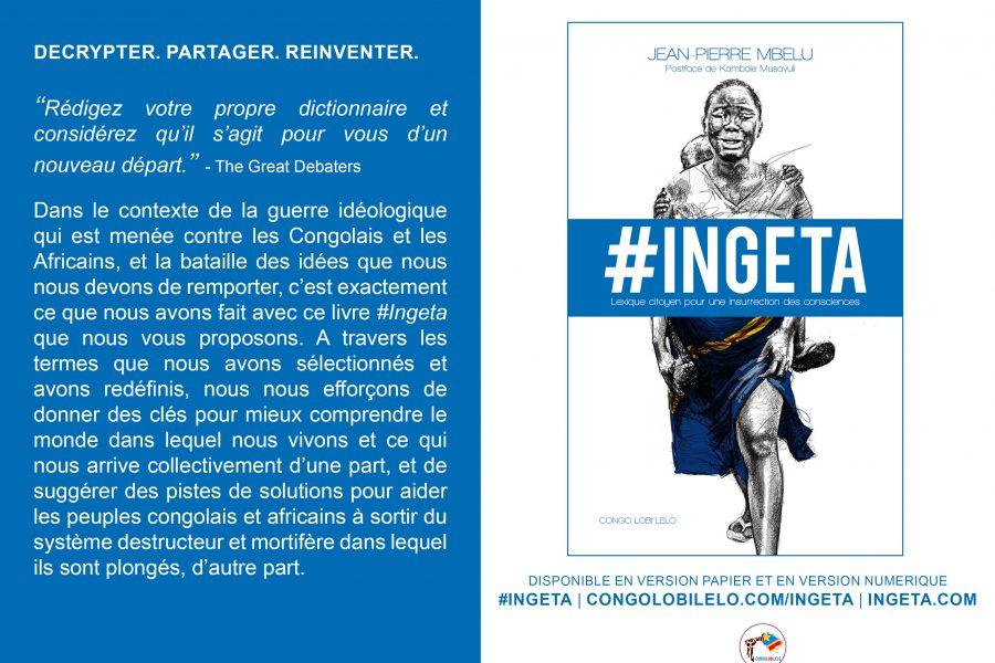 Le livre #Ingeta